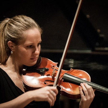 Charlotte Baillot en action